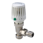 Honeywell VT117E 15mm TRV Thermostatic Radiator Valve Angled Central Heating Valve